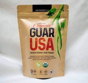 Certified USDA Organic Guar Powder USA