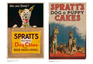 Spratts Dog Cakes Advertisements
