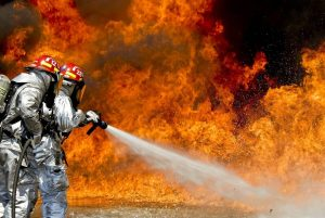 Firefighters And Retardants